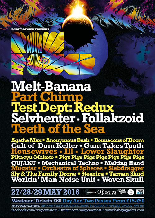 Test Dept Redux - Friday 27th May